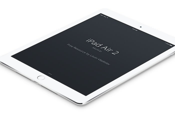 iPad Air 2 Perspective PSD
