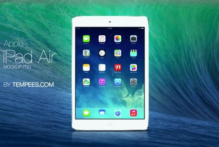 iPad Air Screen Mockup