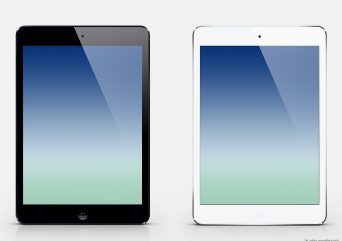 iPad Air customizable Screen Mockup
