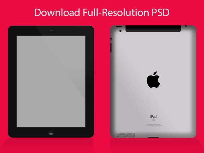 iPad Mockup PSD