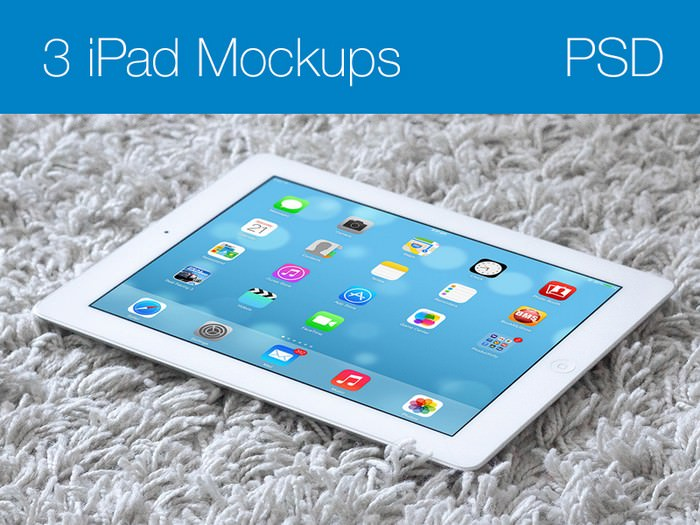iPad Mockups Screen