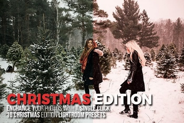 Christmas Edition Lightroom Presets