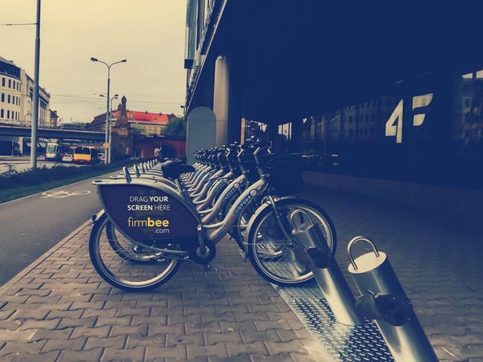Ad Bike Advertising