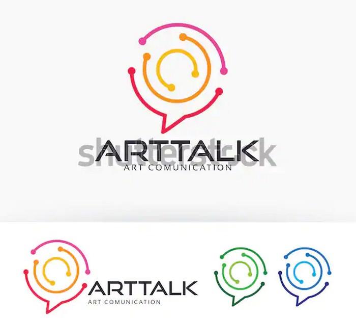 Art Talk Logo