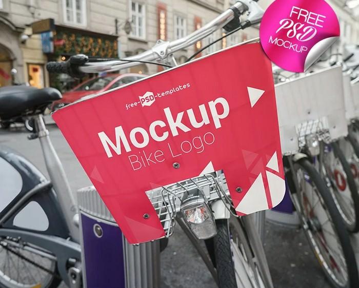Bike Logo Mock-UP