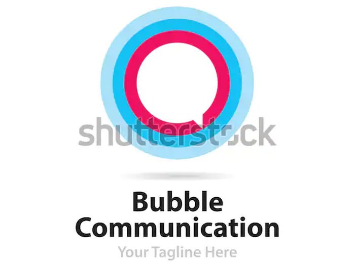 Bubble Communication Logo