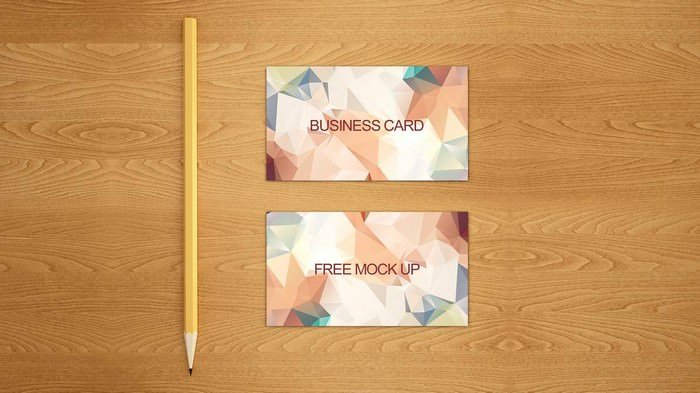 Business Card Free mock up