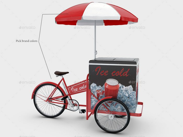 Cargo Bike Mock-Up