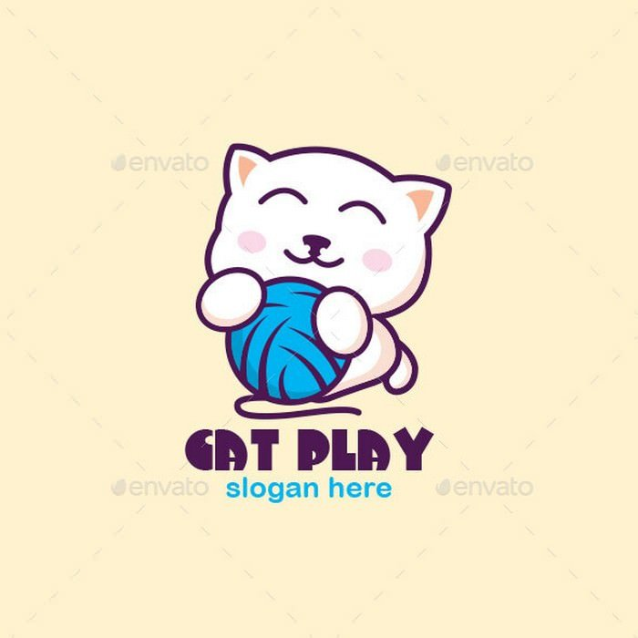 Cat Play Logo