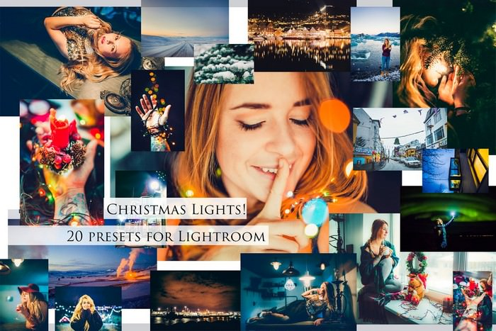 Christmas Lights- Set of Presets