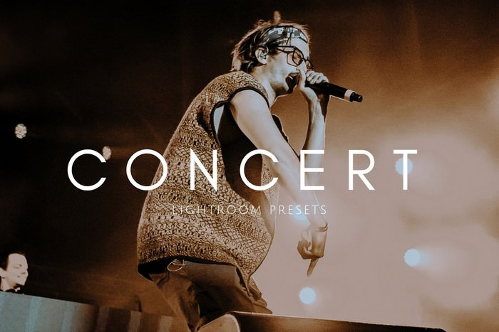 Cinematic Moody Concert LR Presets