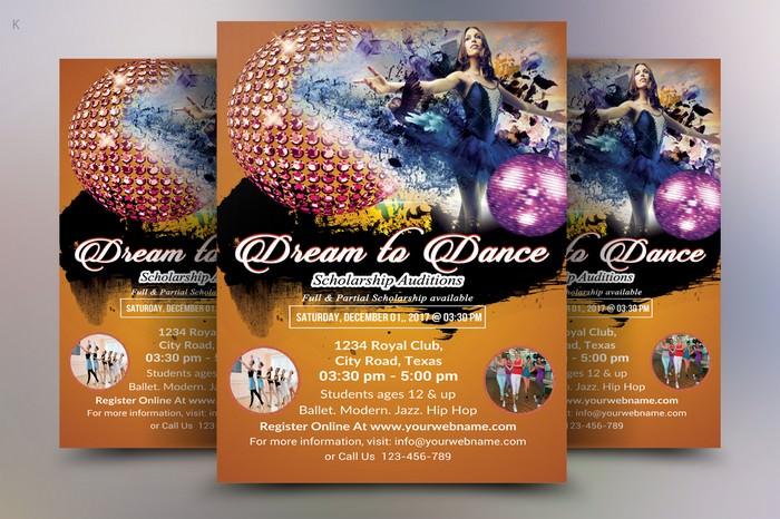 Dance Audition Flyer