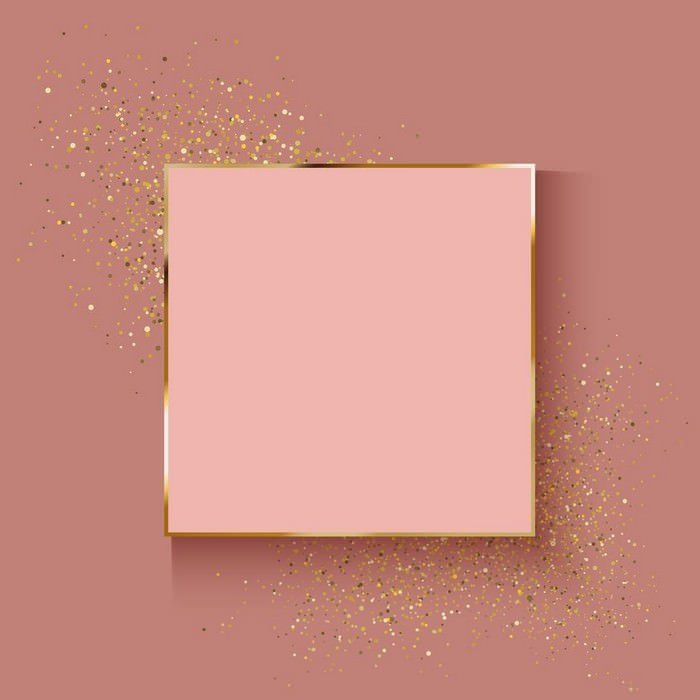 Decorative Rose Gold Background