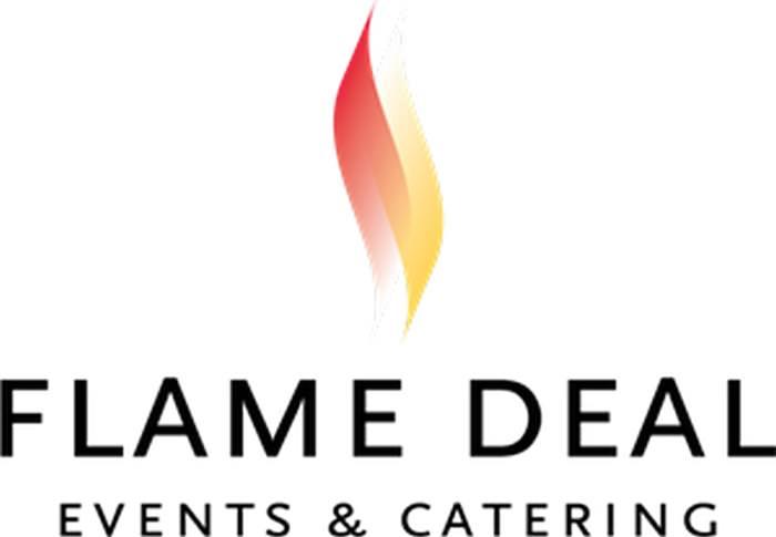 Flame Deal Logo Vector