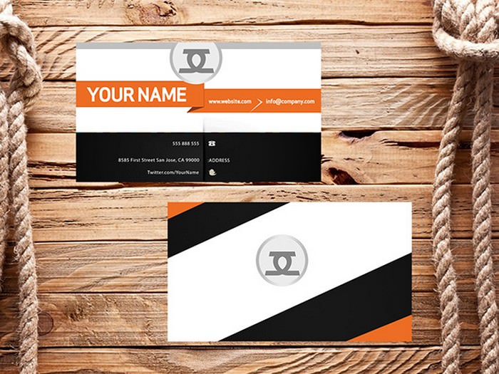 Business Card PSD – Front and Back