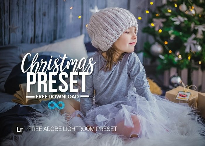 Free Christmas Lightroom Preset