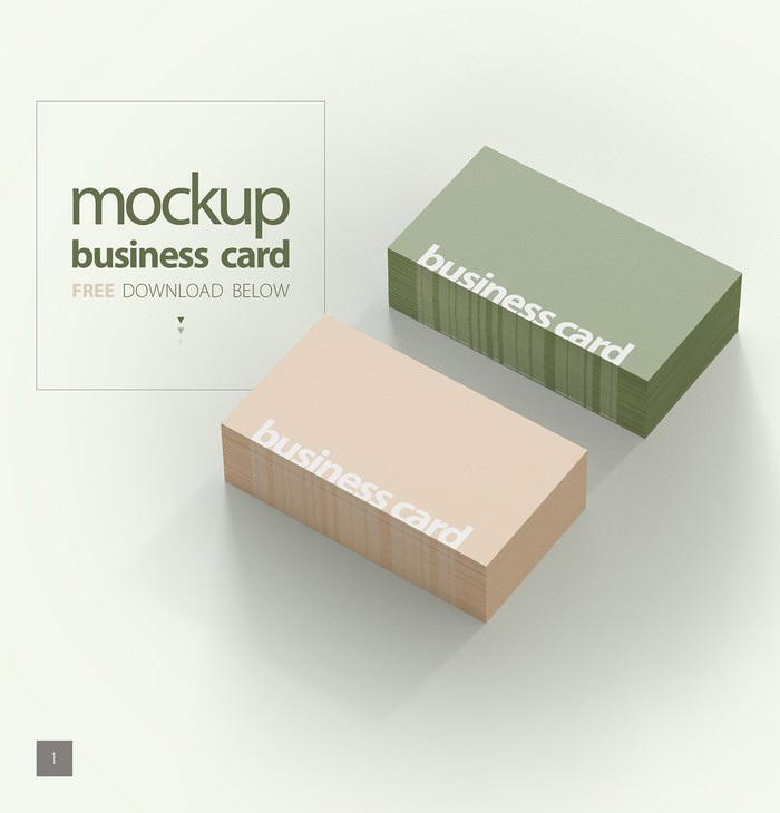 Mockup Business Card