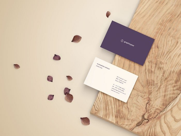Front & Back Business Card PSD