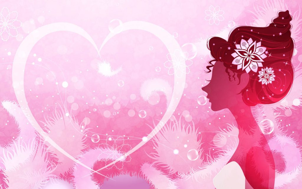 Romantic Mood Girly Background