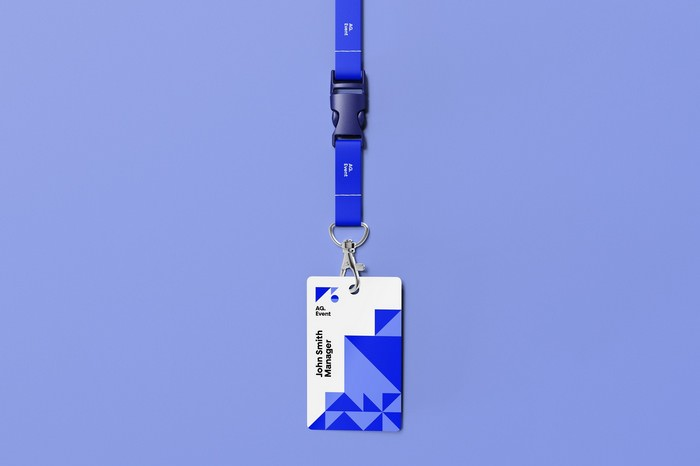 ID Card Mockup Free