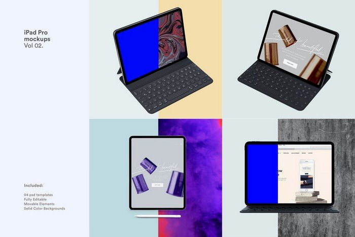 IPad Pro Tablet Mockup