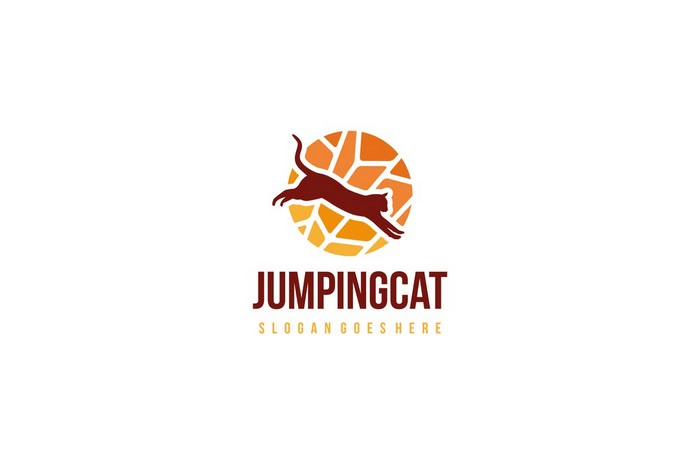 Jumping Cat Logo