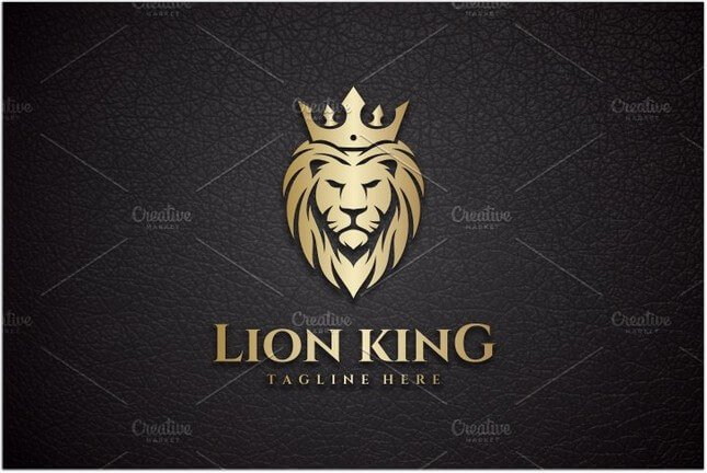 King Lion Logo