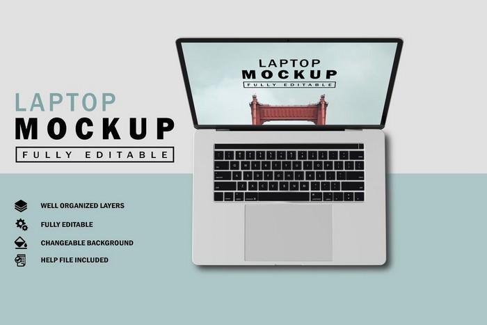 Laptop Mockup V.2
