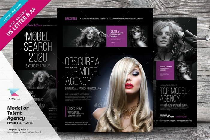 Model or Talent Agency