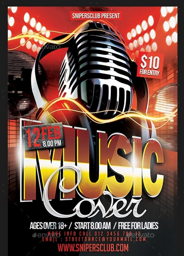 Music Cover Flyer