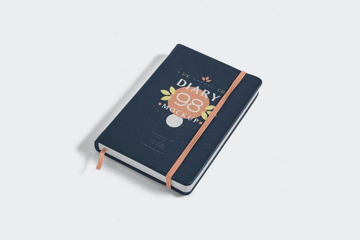 Open & Closed Notebook Mockups