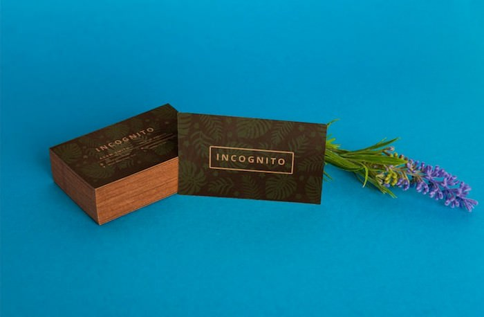Organic Business Card Mockups