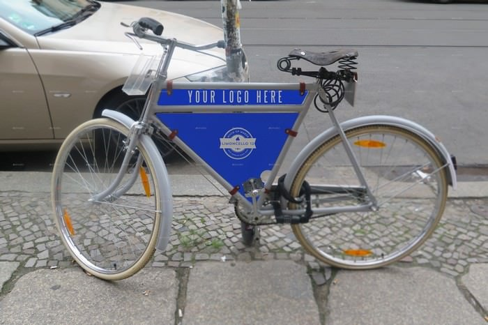 Bike Advertising Mockup