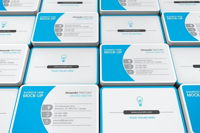 Photostatic Business Card Mockups