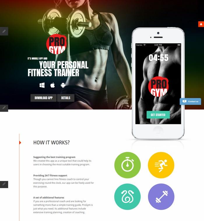 ProGym - Fitness&Gym Joomla Template