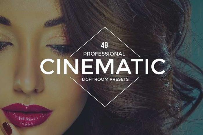 Cinematic Lightroom Effect with precise calibration adjustments