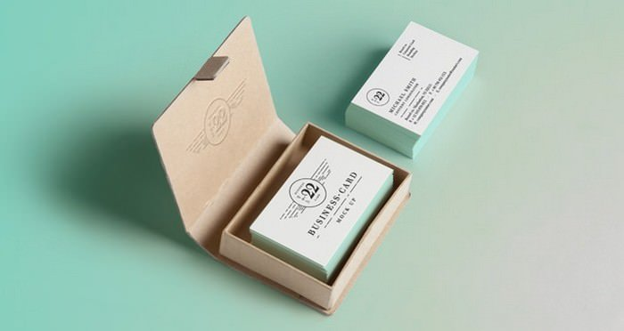Business Card Mock-Up Vol22