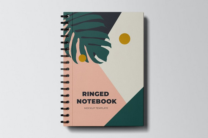 Ringed Notebook Mockup Template