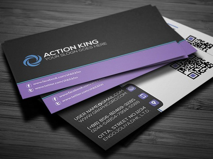 Simple Corporat Business Card Template