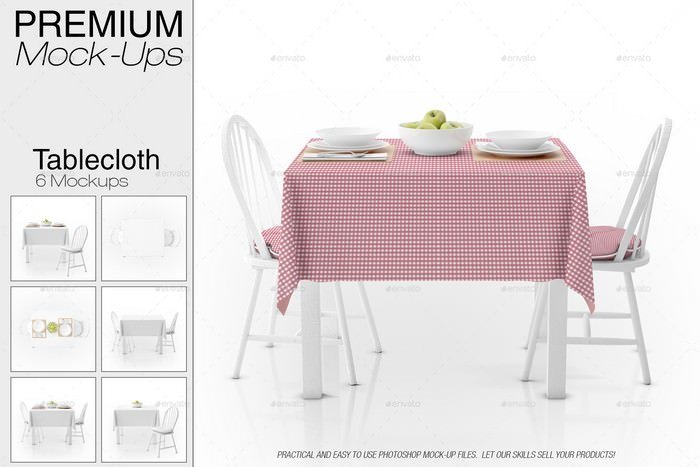 Tablecloth Mockup