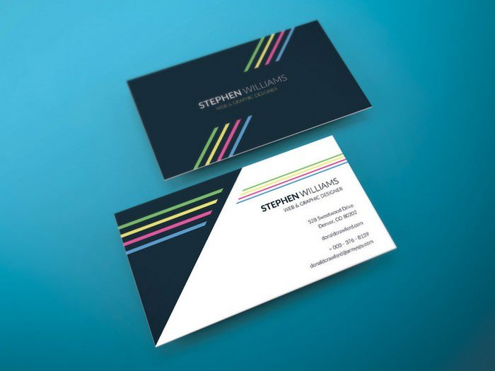 Two Side Print Ready Business Card