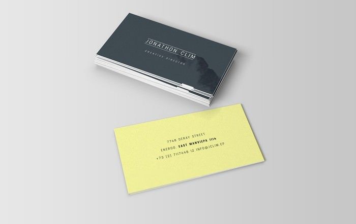 Ultimate Business Card Mockup