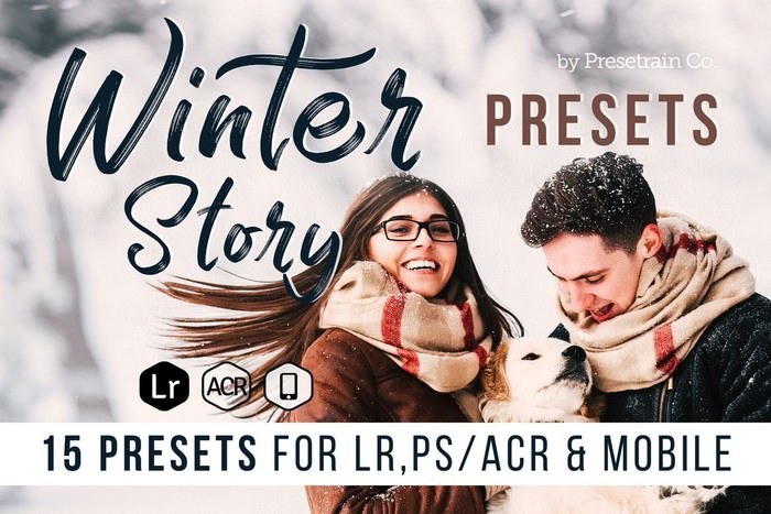 Winter Story Presets for Desktop and Mobile