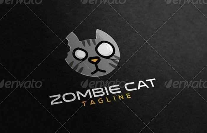 Zombie Cat Logo