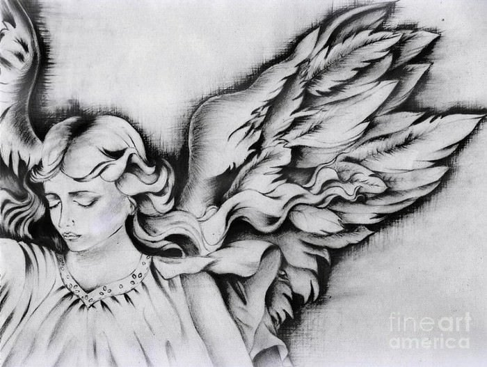 Angel Wings is a Drawing