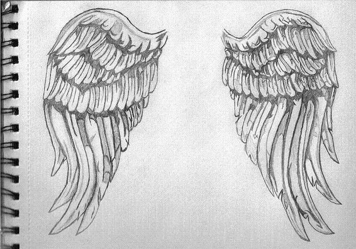 Wings Angel Drawings