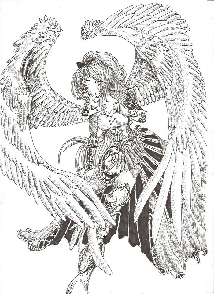Angels Drawing