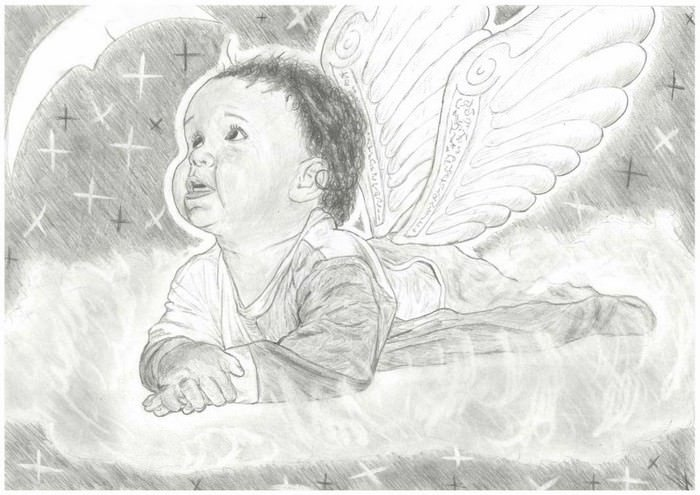 Baby Angel Drawings