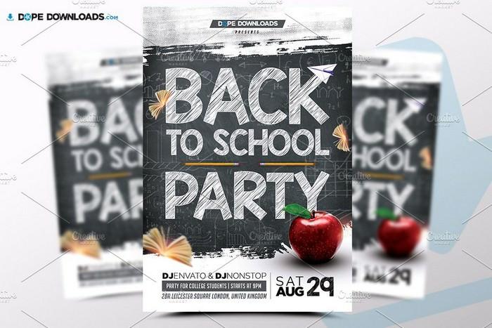 DJ Party Flyer PSD Flyer