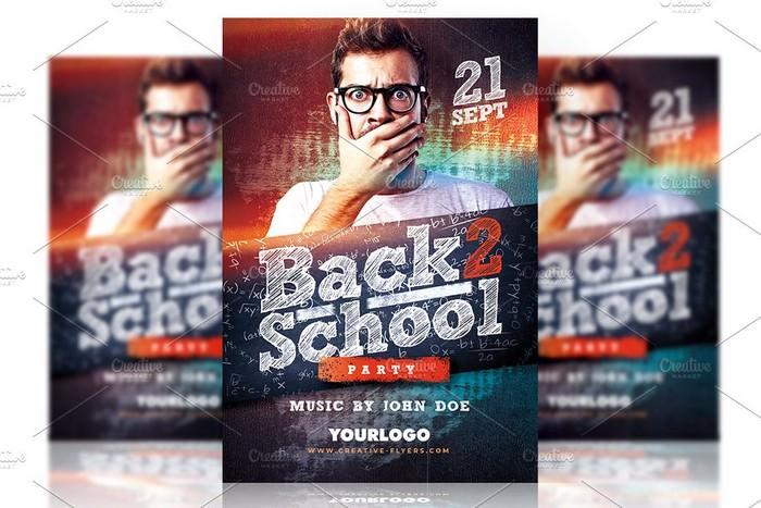 Music Event PSD Flyer Template